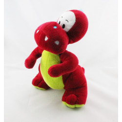 Doudou dinosaure rouge vert P'TIT DINO CMP
