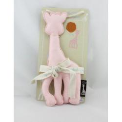 Doudou Sophie la Girafe rose VULLI