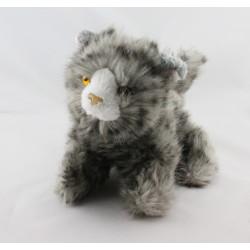 Doudou peluche chat tigré gris HISTOIRE D'OURS