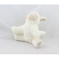Doudou mouton blanc bleu AVENE PEDIATRIL