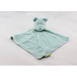 Doudou plat ours bleu BABIBOU