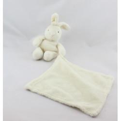 Doudou et compagnie Lapin blanc avec mouchoir
