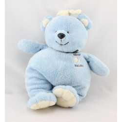 Doudou musical ours bleu Baby Melody NOUNOURS