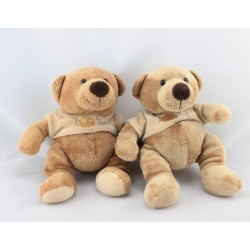 Doudou ours marron pull beige BABY NAT