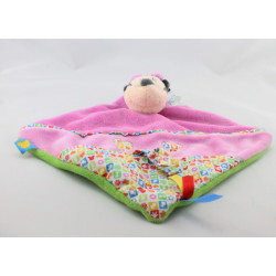 Doudou plat minnie rose coeur motifs DISNEY