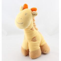 Doudou girafe jaune orange KIABI BEBE