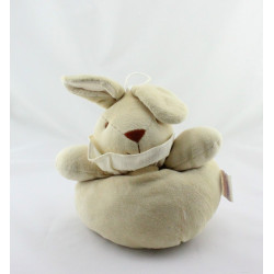 Doudou musical lapin beige NOUKIE'S