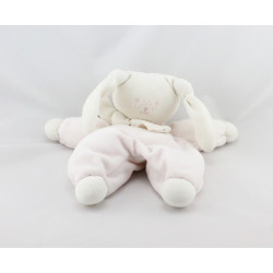 Doudou lapin Patachou rose blanc Corolle