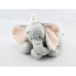 Peluche Doudou éléphant gris Dumbo DISNEY