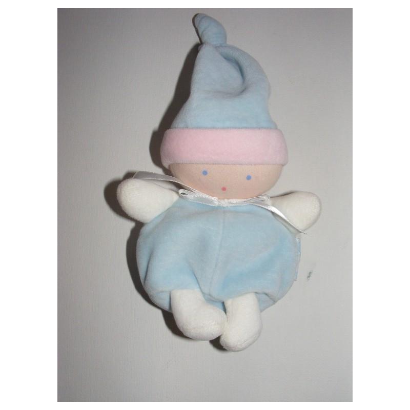 Doudou lutin bébé rose COROLLE