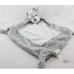 Doudou plat chien gris clochard DISNEY BABY