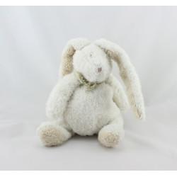 Doudou lapin blanc beige ELLA DIMPEL