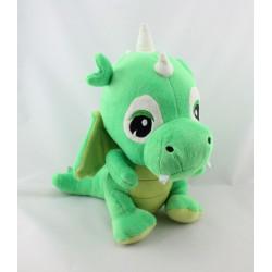 Doudou peluche dragon vert ZEEMAN