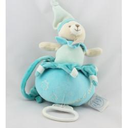 Doudou et compagnie musical ours bleu Nuage d'étoiles