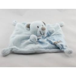Doudou plat ours bleu Baby Garden NICOTOY