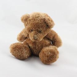Doudou ours marron