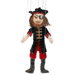 DMarionnette à fils Peluche Pirate THE PUPPET COMPAGNY