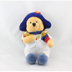 Peluche Winnie l'ourson déguisé en Napoléon Collection Disney