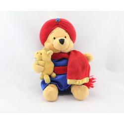 Peluche Winnie l'ourson déguisé en Emir arabe Collection Disney