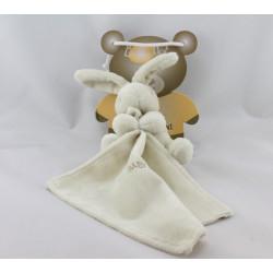 Doudou Lapin beige avec mouchoir Baby nat
