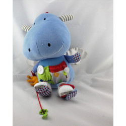 Grand Doudou eveil dragon bleu ITSIMAGICAL
