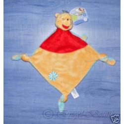 'Doudou plat noeuds Winnie lourson Disney Baby'