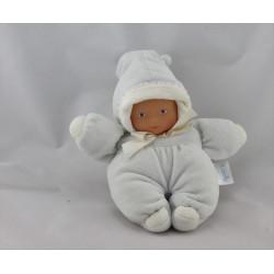 Doudou poupon bébé bleu COROLLE 2003