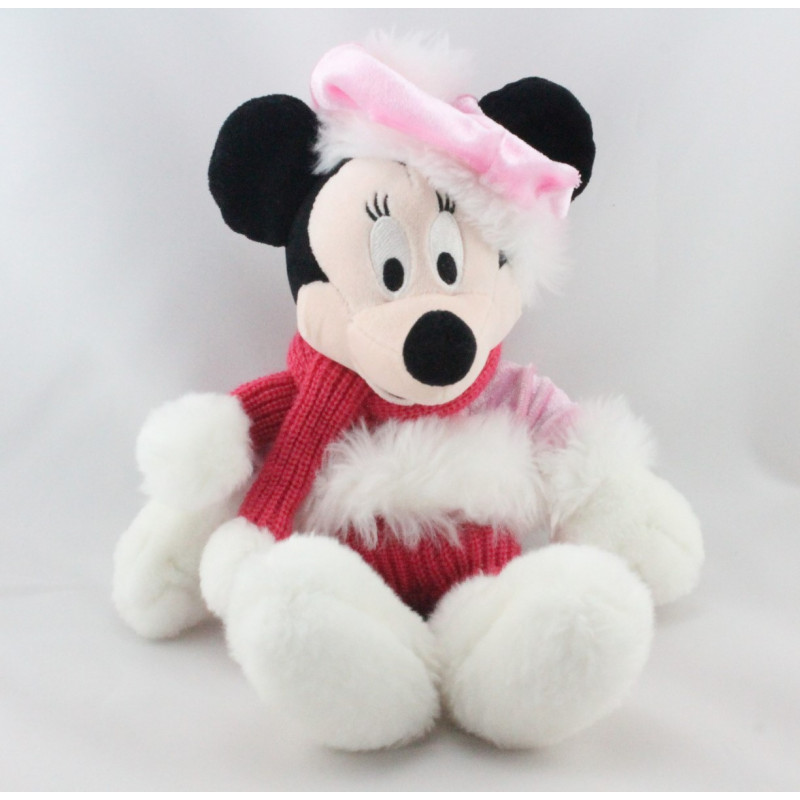 Peluche Minnie rose hiver neige Snow Boots DISNEYLAND RESORTD RESORT
