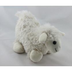 Doudou peluche mouton blanc