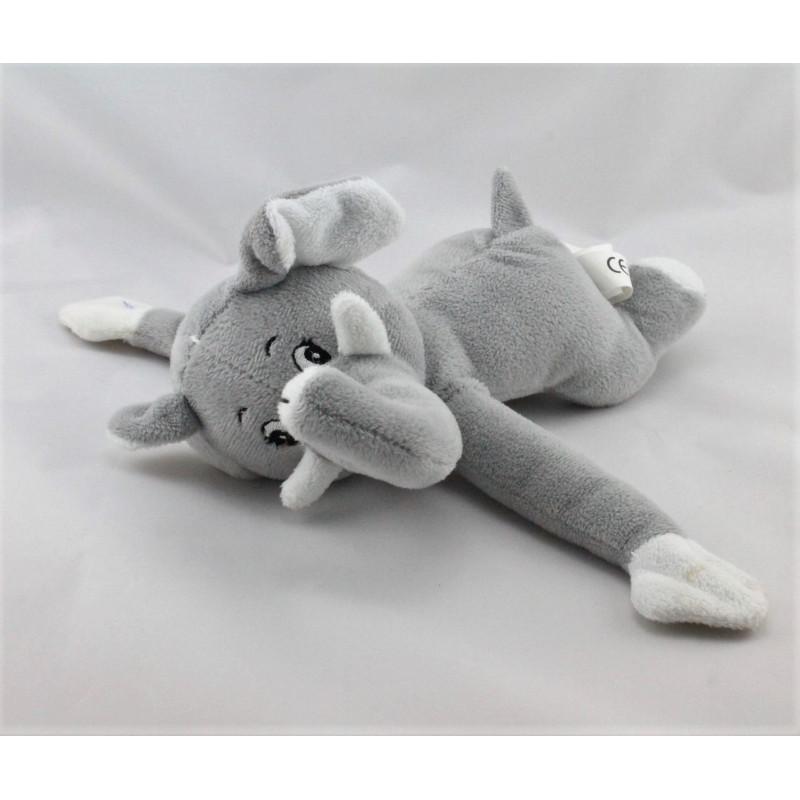 Doudou elephant gris CENTRAL VET