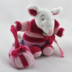 Doudou et compagnie souris rose cadeau Graines de doudou