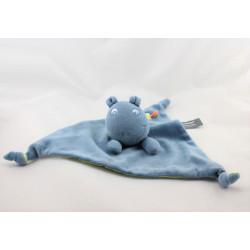 Doudou plat dragon bleu vert ORCHESTRA PREMAMAN