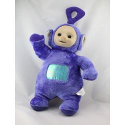 Doudou peluche TELETUBBIES violet Tinky Winky TOMY 45 cm