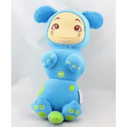 Doudou veilleuse luciole chat bleu POMMETTE