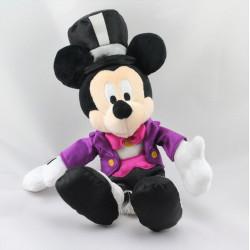 Peluche Mickey costume violet chapeau DISNEYLAND RESORT