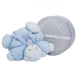 Doudou patapouf ours bleu PERLE KALOO