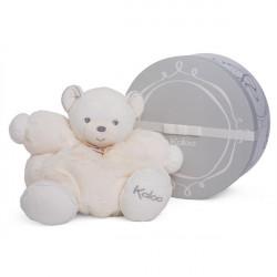 Doudou patapouf ours blanc créme PERLE KALOO