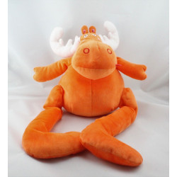 Doudou élan cerf orange IKEA
