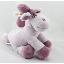 Doudou musical poney cheval parme violet Jack Tidou NOUKIE'S