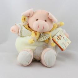 Doudou et compagnie Simon le petit cochon Z'amigolos 22 cm