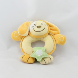 Doudou hochet chien jaune CHICCO