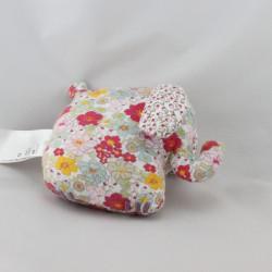 Doudou éléphant fleurs HM - H&M H ET M