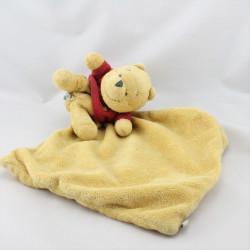 Doudou plat Winnie l'ourson mouchoir DISNEY BABY