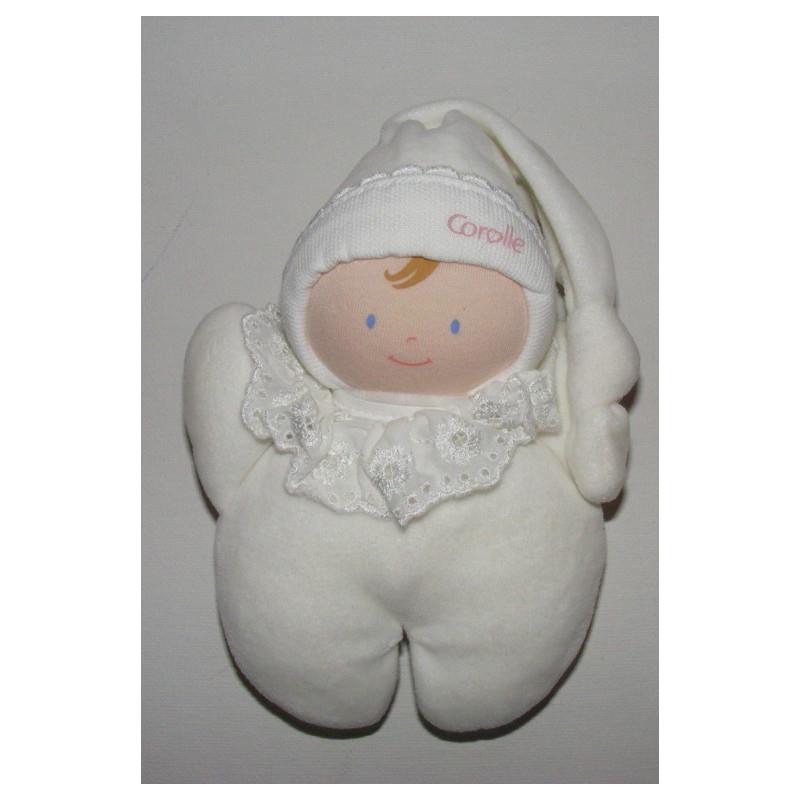Doudou poupon bébé jaune BABI COROLLE