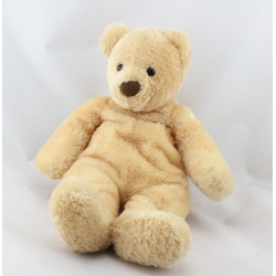 Doudou ours beige NICOTOY 32 cm