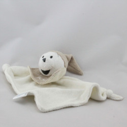 Doudou Plat Winnie l'Ourson Blanc beige DISNEY BABY