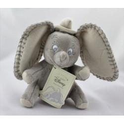 Doudou éléphant gris Dumbo NICOTOY 17 cm