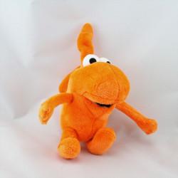 Peluche orange Bol et Smik STUDIO 100