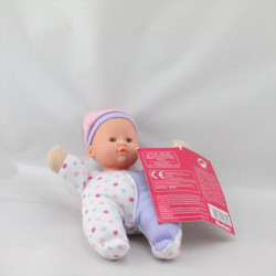 Doudou poupée mini poupon AUCHAN RIK ET ROK