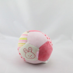 Doudou balle eveil rose Bubbly Crew Babysun